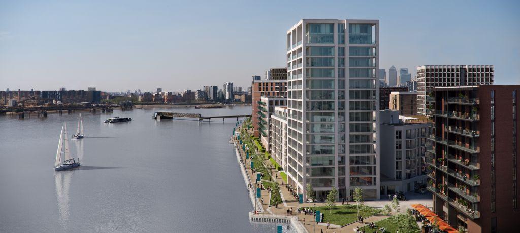 Royal Wharf London exclusive deal 英國倫敦皇家碼頭尊貴優惠
